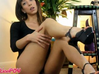 humiliation pov  miss sasha conceited  you can't control your cock when you're staring at my legs  worship