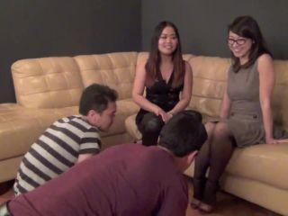 Ball Abuse – ASIAN MEAN GIRLS – THE NUTCRACKERS – Astro Domina