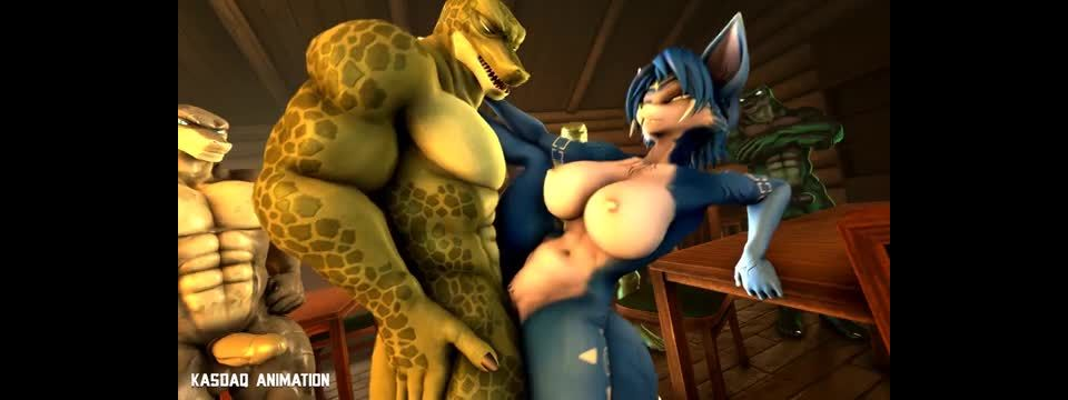 krystal just getting WRECKED by lizards - Kasdaq