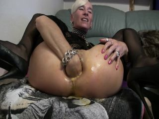 Lady-Isabell666 egg in ass, fisting and dildo porn