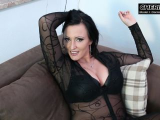 Strap-on – CHERIE NOIR – HARD AND UNCUT – Service maid humiliation! The stupid bitch is to suffer