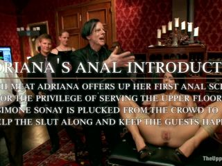 Adriana Chechick Fucked in the Ass for the Very First Time - Kink  September 6, 2013