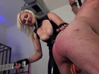 DomNation  I DELIGHT IN YOUR AGONY! Starring Mistress Thorn Kelly