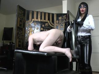 Absolute Femdom – Breaking A Slave In Rubber Riding Boots 2