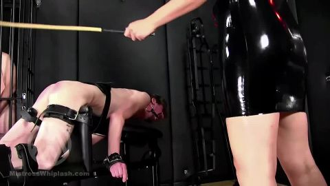 Mistress Nikki Whiplash starring in video (No mercy caning for two naughty slaves part III WL1502) [HD 720P]