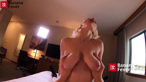 Skylar Vox - Skylar, Curly Hair Teen With Big Balloon Tits, Gobbles Chinese Man's Meat Stick and Rides Him [FullHD 1080P]