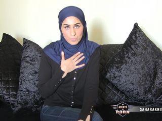 Naughty Hijabi teases her cuck husband