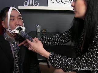 Office – Club Stiletto FemDom – Slobbering Employee Fuckface – Miss Jasmine