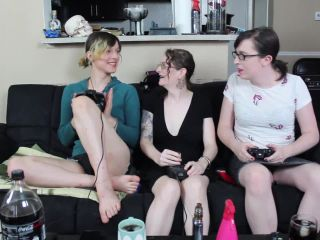 T.porn presents Ashley Vega Gamer Girl Gang