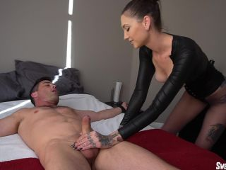 She Owns Your Manhood  Brutally Sensual Edging with Rocky FULL. Starring Lance Hart [Edging, Ruined Orgasms, Cum on Berlly, Cum on Pantyhose, Sperm, Milking, Cumshot]
