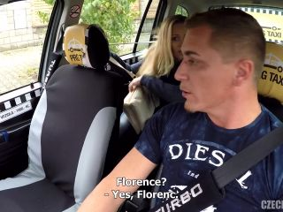Czech Taxi - Mature busty nympho squirts