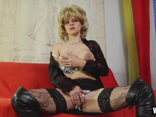 Blonde Prostitute In Knee High Boots Gets Fucked