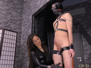 Forced Male Orgasm – CRUEL MISTRESSES – Huge squirting – Mistress Cleo