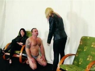 CRUEL PUNISHMENTS – Mistress Suzy, Mistress Margo –  Revenge on the waster slave