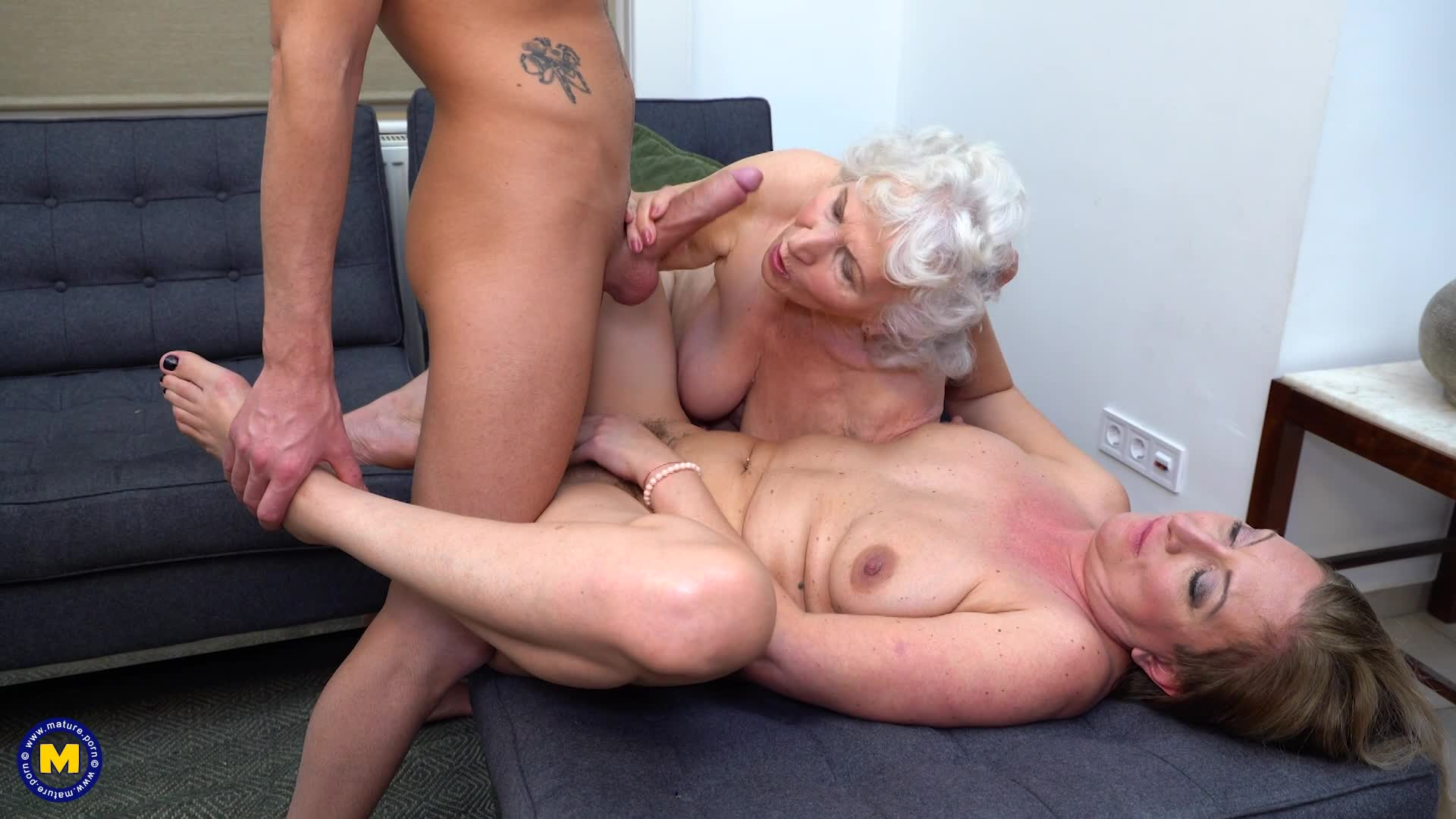 Hairy Old Grannies Threesomes