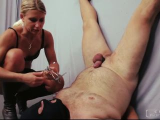 Forced Orgasm – CRUEL PUNISHMENTS – SEVERE FEMDOM TRIBUTE – Forced cum eating – Lady Zita