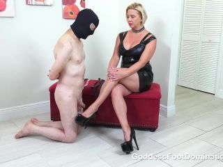 Goddess Foot Domination  Can He Take It. Starring Goddess Brianna [Foot Fetish, Footworship, Footlicking, Foot Licking, Foot Worship, k2s.cc, femdom online]