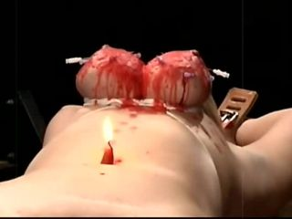 hot blonde wife blonde   Brutal  Fyre – Burned Tits (171111)   hot wax