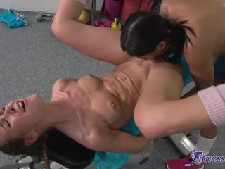 Sex,Ass Licking,Face Sitting,Pussy Fingering,Pussy Licking,Bedroom,Gym,Indoors,Kitchen,Lesbian-screenshot-2