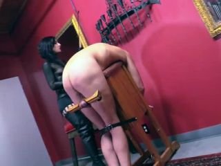 Spit – Cybill Troy FemDom Anti-Sex League – Cold Hard Caning