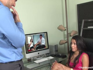 HardCoreFootSex, Foot Job - Layla Sin - Office Foot Fun [foot fetish]