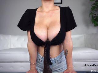 MissAlexaPearl - My First BBC GF Humiliation Titfuck WebCam