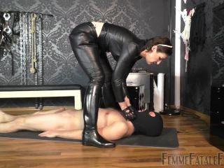 Femme Fatale Films – Used and Milked Dry – Part 1 – Lady Victoria Valente – Human Ashtray – Smoking, Spit Fetish - spit - fetish porn kim kardashian femdom