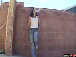 Movie title samantha-smoking-in-jeans