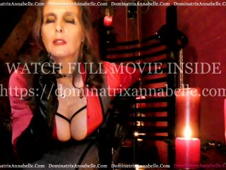 Dominatrix Annabelle in Haunting Hypnosis!