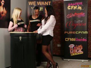 Pure CFNM – Alana Bliss, Lana Harding & Scarlett Rose