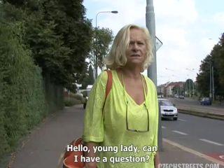 Czech Streets - Grandmother Jarmila