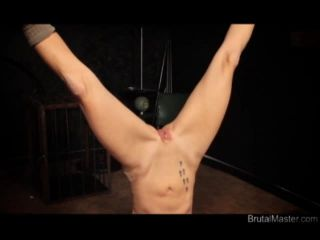 Brutal BDSM Pig – Strung Up Cunt Torture (021115)