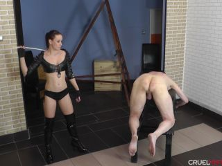 Cruel-Mistresses - Mistress Anette - Riding Crop And Cane (1080 HD) | mistress anette | bdsm porn