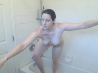 Booty4U - Masturbating In The Shower