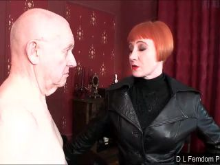 Female Domination – D L FEMDOM PRODUCTIONS – Caned for a Confession – Liza