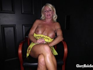 Gina's Third Glory Hole Video  05/17/2014