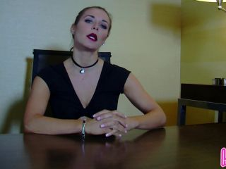 Your Dominant Young Humiliatrix Boss Remi Demotes You to Office Foot Slave