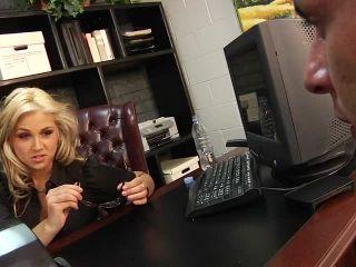 She's The Boss, Scene 1    big boobs   feet