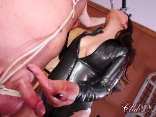 club dom: miss roper's dungeon slave: milked
