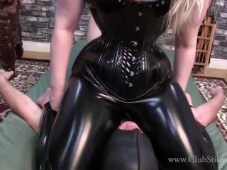 Clubstiletto – Domina Ruby – Ruby's PVC Ass Crush