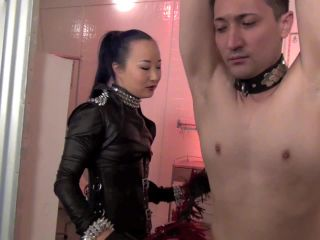 Asian Cruelty  WHIPPED TO HER WILL. Starring Goddess Kitsa Sakurai