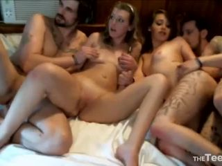 Chaturbate  Trafik210  Foursome Crazy Ticket  Part 1  Blonde,Blowjob,Chaturbate Video  Release (June 17, 2018)