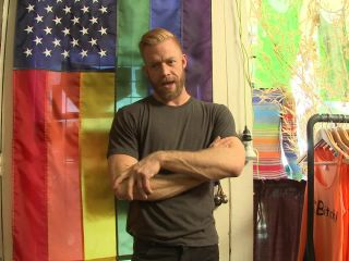 Greedy whore stuffed full of cock at a local clothing store - Kink  April 4, 2014