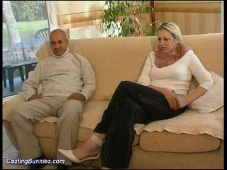 Threesome on casting couch