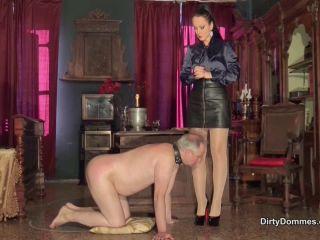 DirtyDommes – Fetish Liza – Cuckolded slave husband