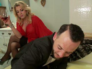 Kink.com- Mistress Tyra Scott Humiliates and Fucks a VERY Tight Ass Man slave-- Tyra Scott, Danny Oak
