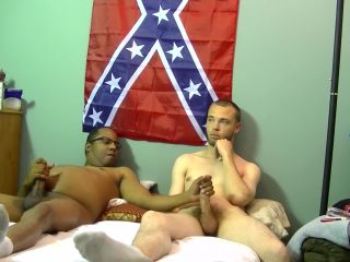 Newbie keystone tries to fuck joe in his first gay scene