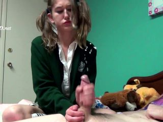 Sandy's Spermtacular Handjob!!! — JERKY GIRLS