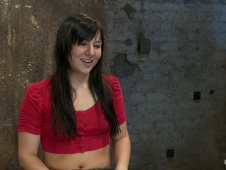 Kink.com- Cute girl next door with Daddy issues_get severely bound_brutally deep throated. Multiple orgasms!-- Ashli Orion