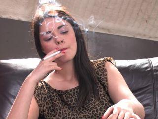 Movie title Ava Dalush Ava Dalush smoking VS 120s while putting on he ...